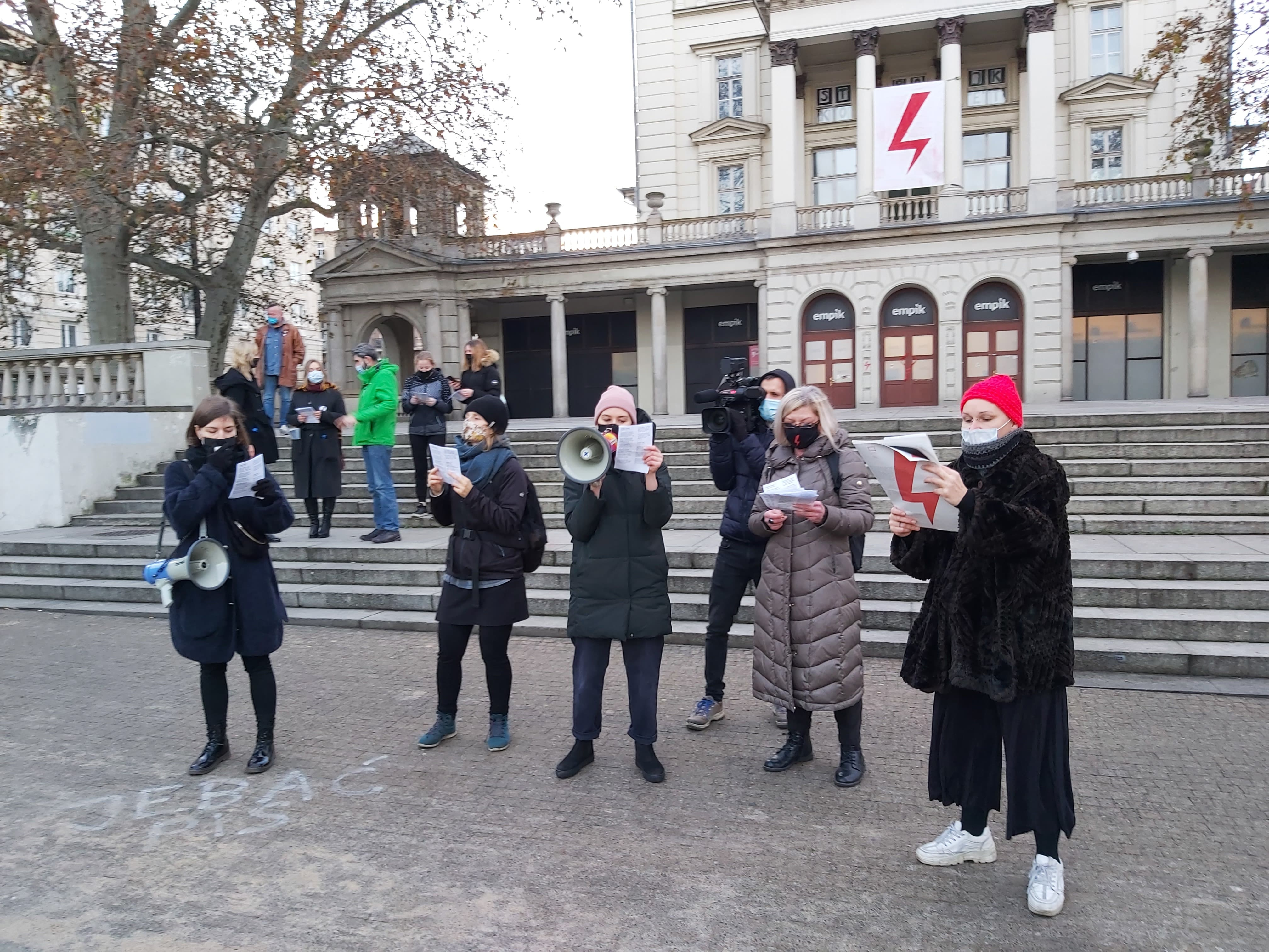 kolędy protest aborcja - Krzysztof Polasik