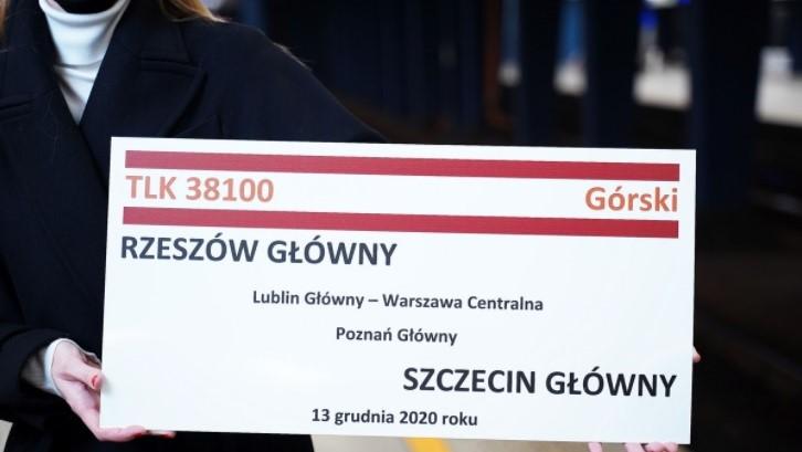 pociąg górski intercity  - intercity.pl