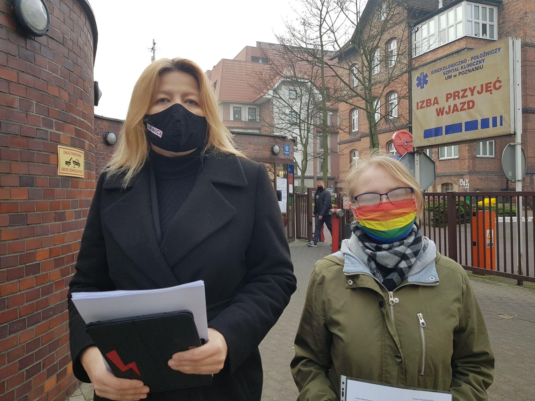 Posłanka Lewicy skarży się na szpital za brak aborcji katarzyna ueberhan - Hubert Jach