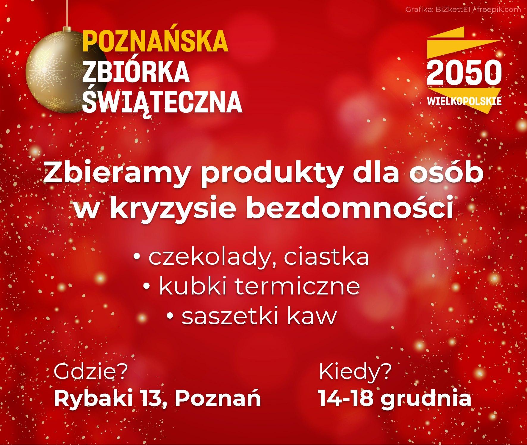 zbiórka bezdomni - Polska 2050 Wielkopolskie
