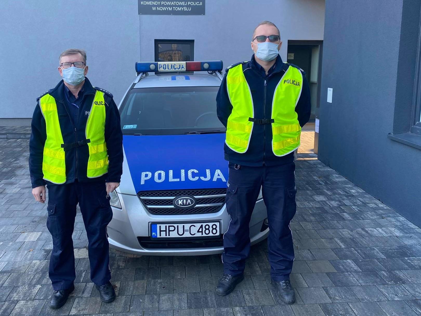 policja eskorta nowy tomyśl - KPP Nowy Tomyśl