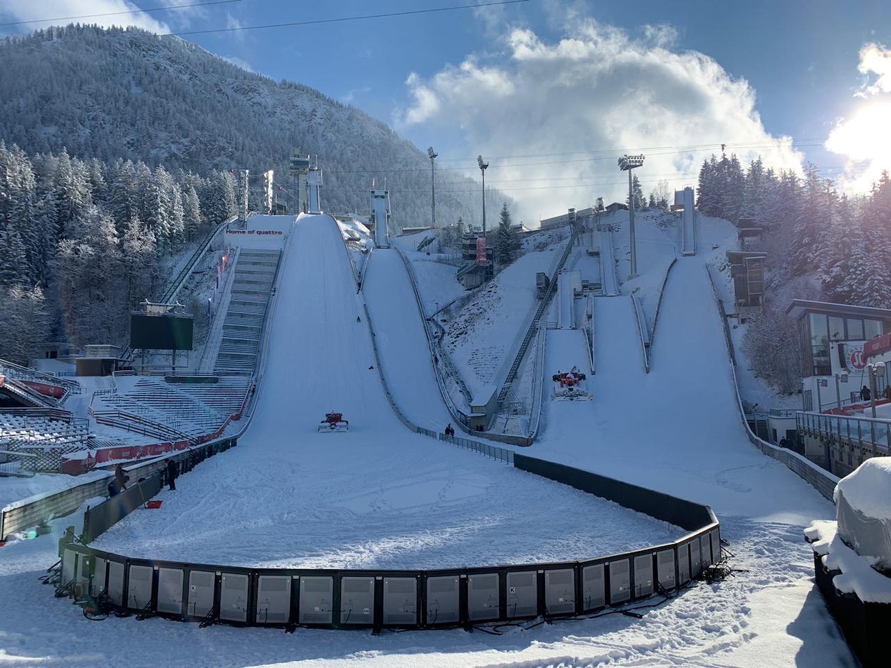 Vierschanzentournee obersdorf turniej czterech skoczni skoki narciarskie skocznia narciarska - Vierschanzentournee