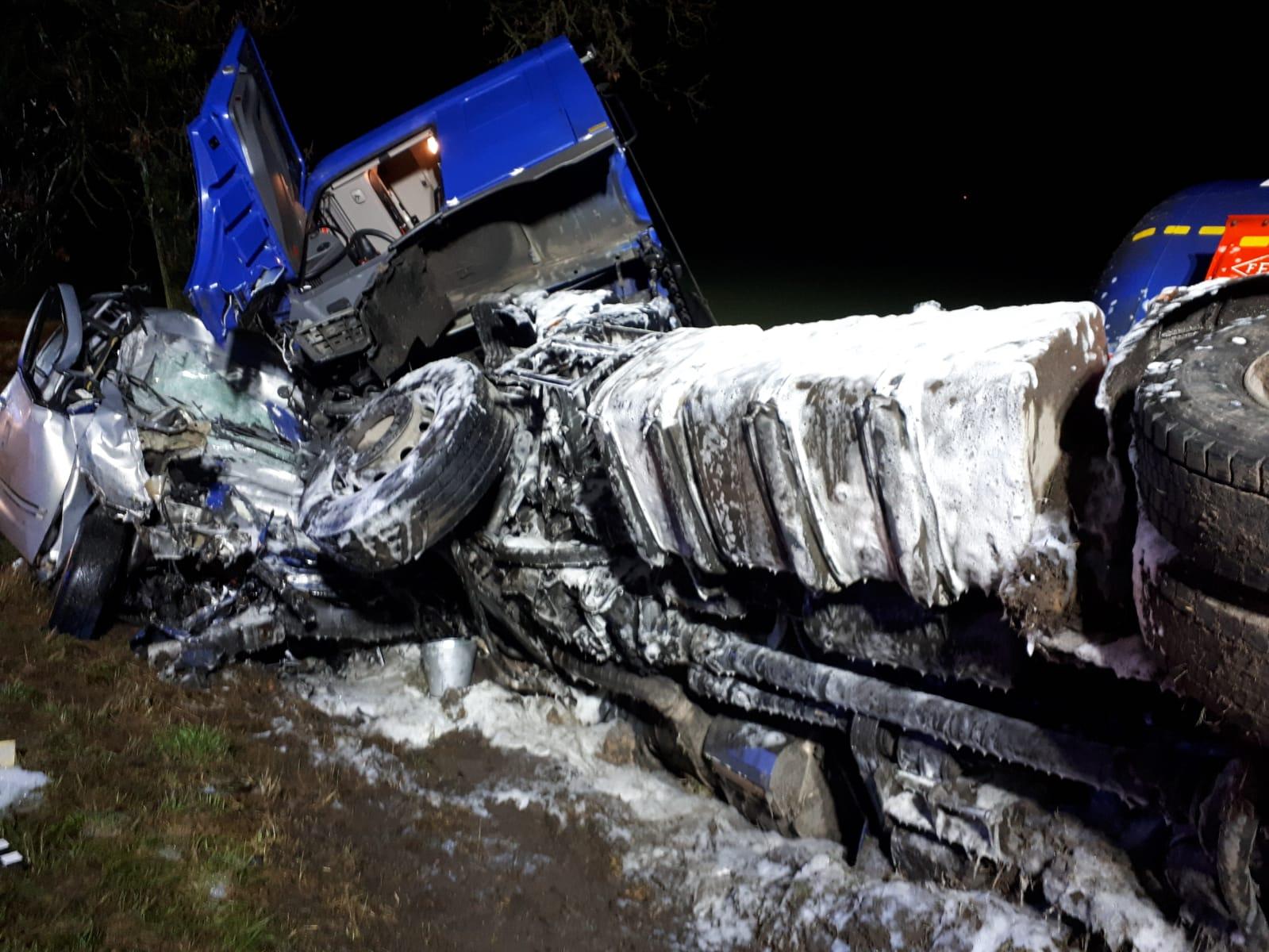 węgierki śmiertalny wypadek zginął 19-latek - KPP Września