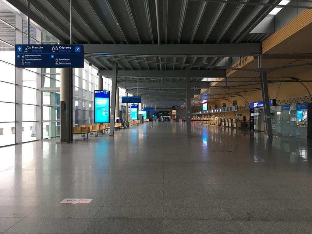 lotnisko ławica  - Adam Michalkiewicz