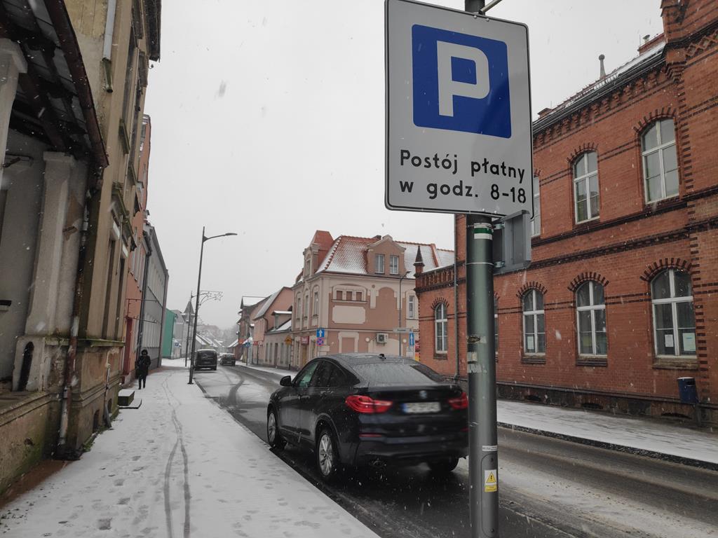 parkin płatny czarnków ulica kościuszki - Przemysław Stochaj