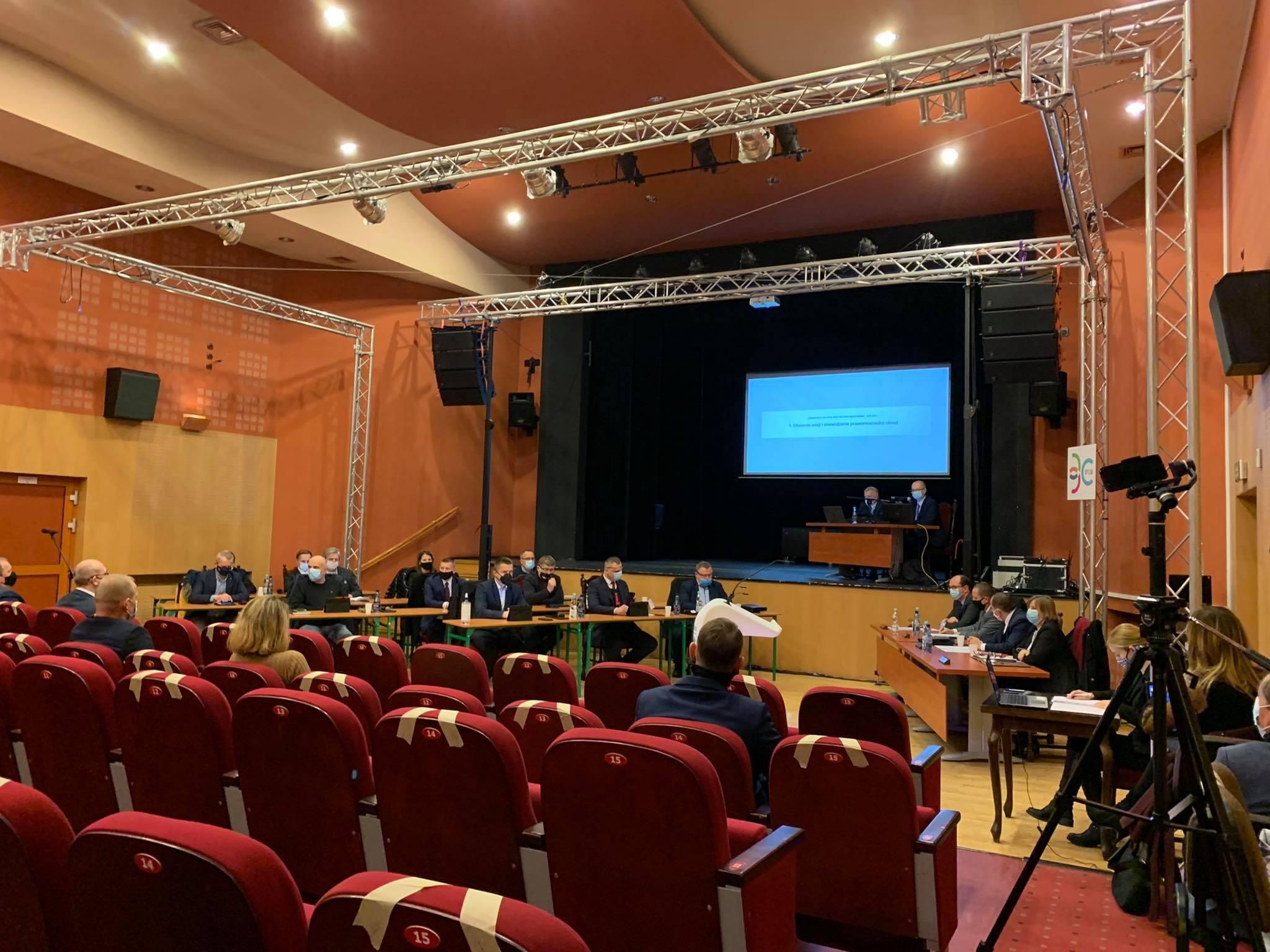 sesja rady miasta gorzyń - Kacper Witt