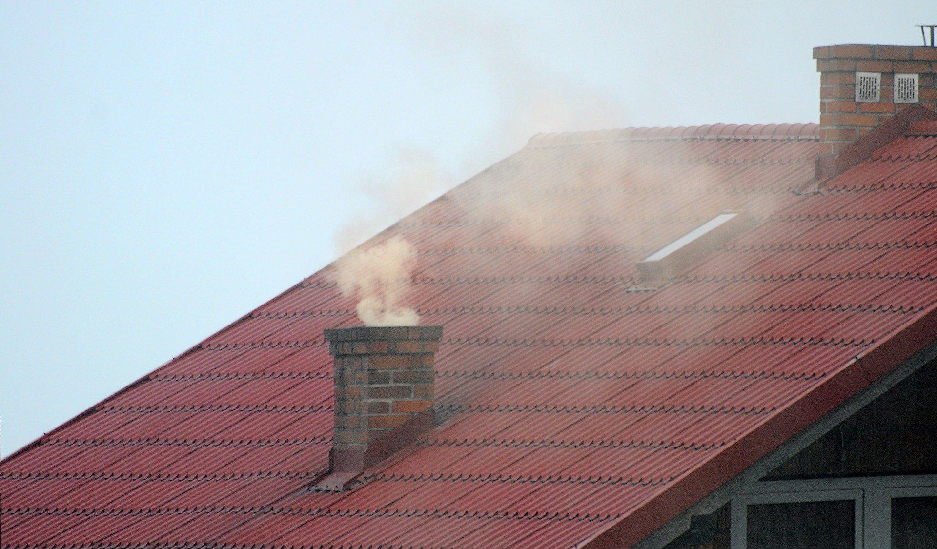 smog komin dym - Pixabay
