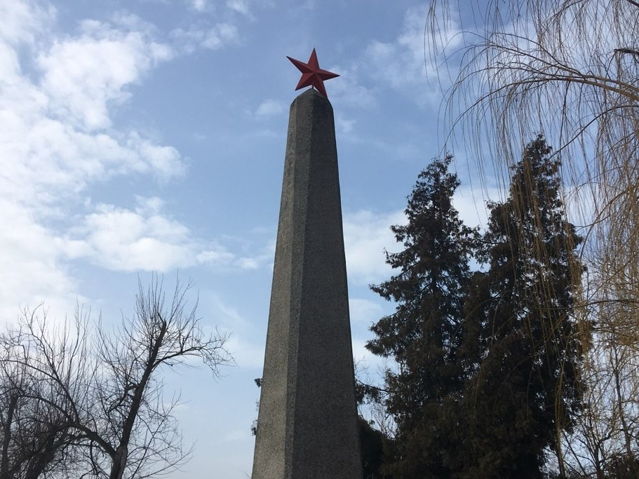 pomnik sowietów kwatera żołnierzy armii czerwonej gniezno - Rafał Muniak