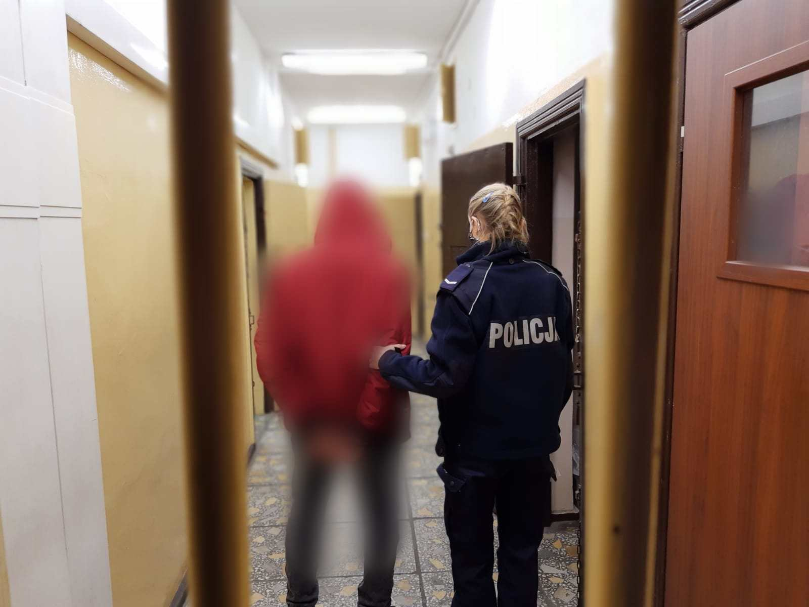 brutalna napaść jastrowie - KPP Złotów