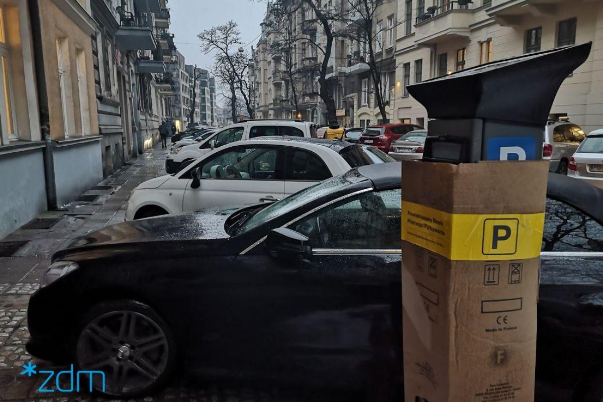 strefa płatnego parkowania łazarz - ZDM