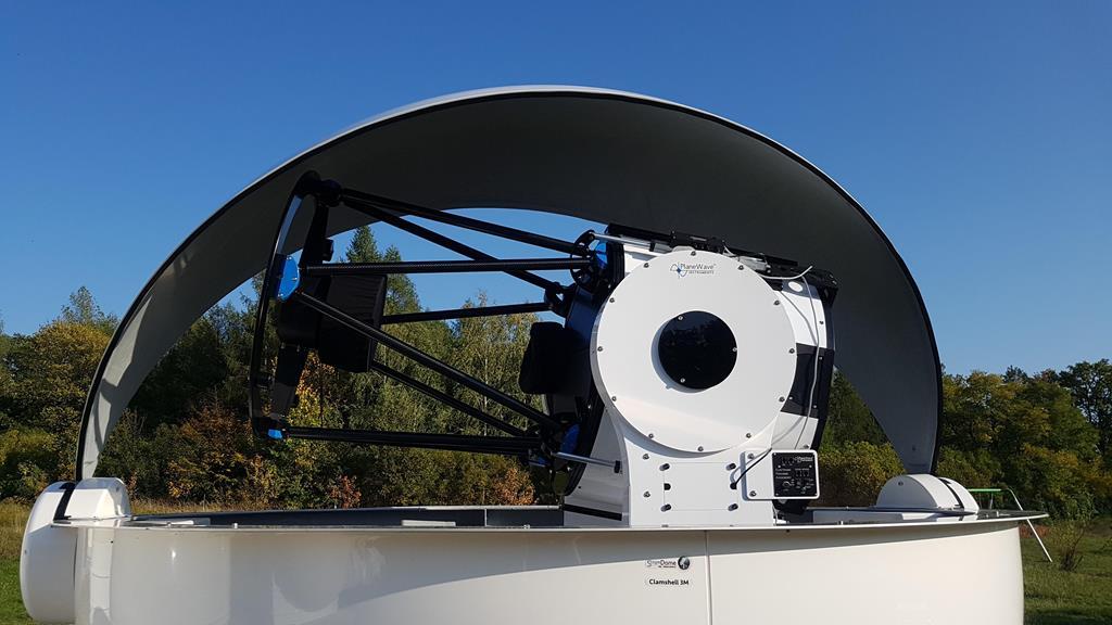 teleskopy uam - Obserwatorium UAM