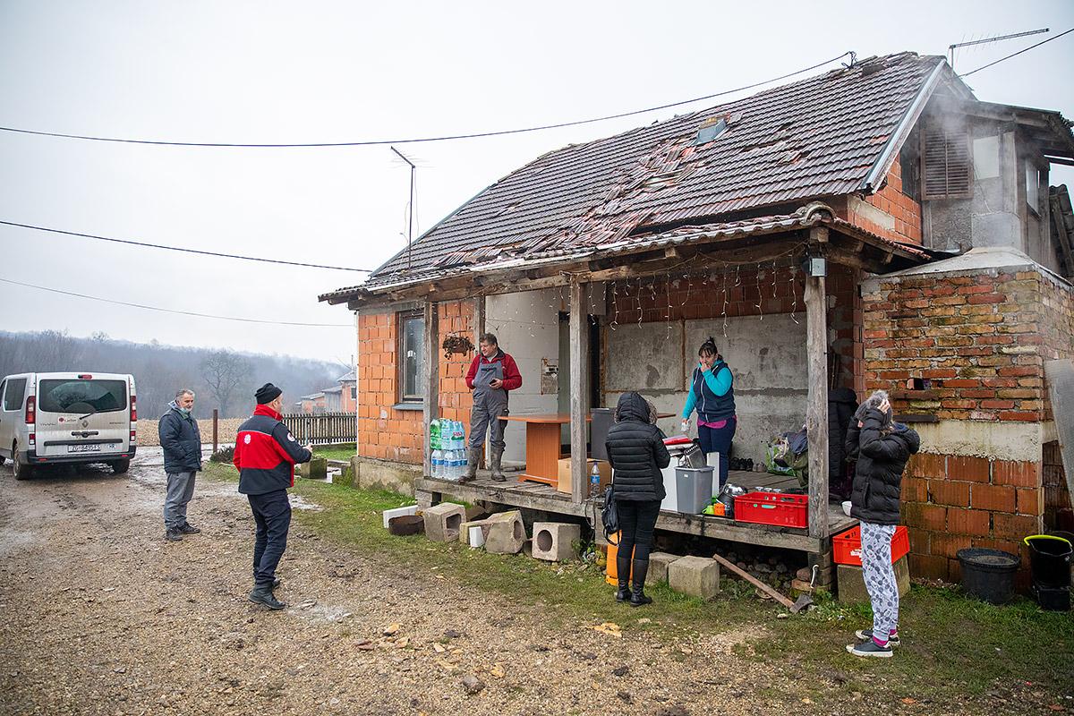 chorwacja trzęsienie ziemi pomoc - Caritas Chorwacja
