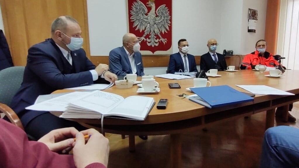 konferencja starosta słupca  - www.powiat-slupca.pl