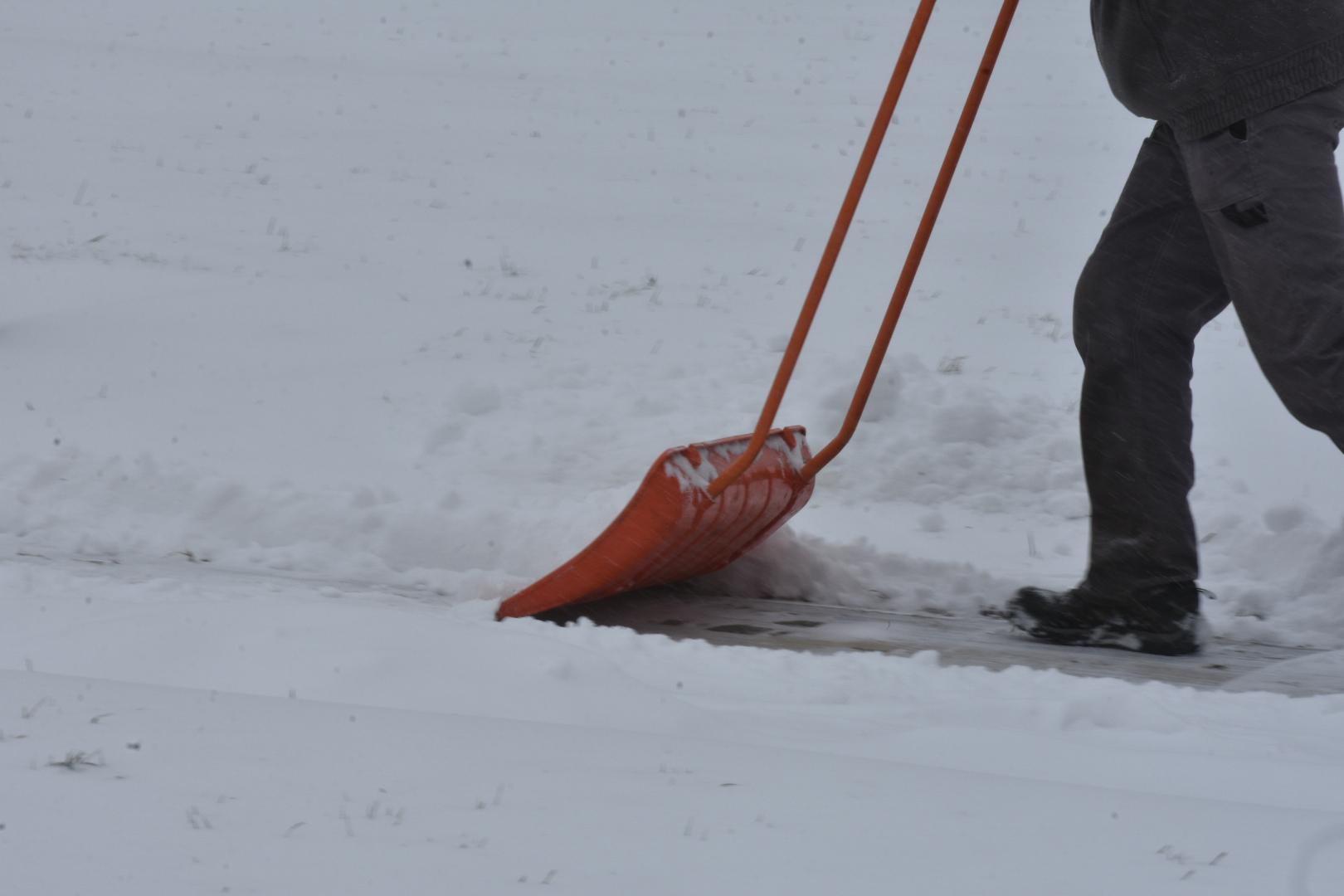 odśnieżanie śnieg - Wojtek Wardejn