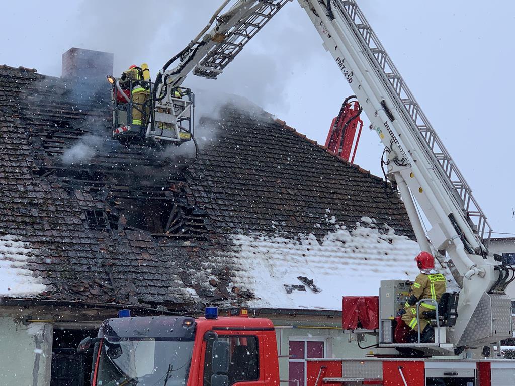 pożar domu międzychód śmiertelny - Kacper Witt