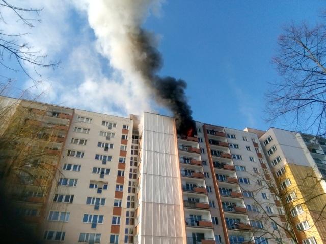 pożar kopernika - Słuchacz Piotr