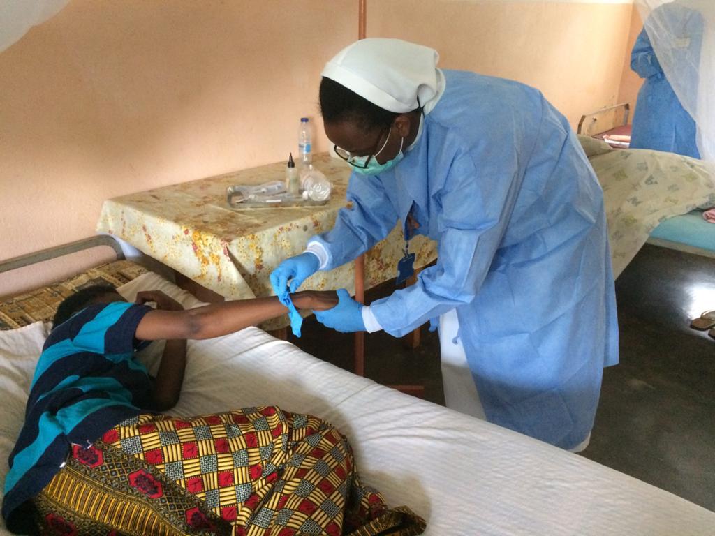 Redemptoris Missio afryka szpital - Kamerun, S. Letycja, Celina Niemczura