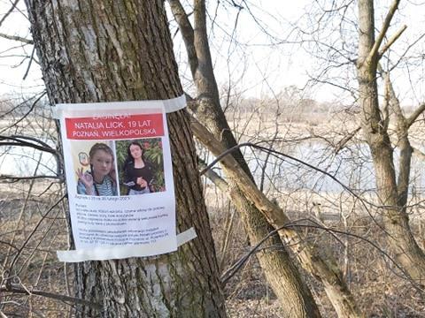 plakaty natalia lick zaginiona - Krzysztof Polasik