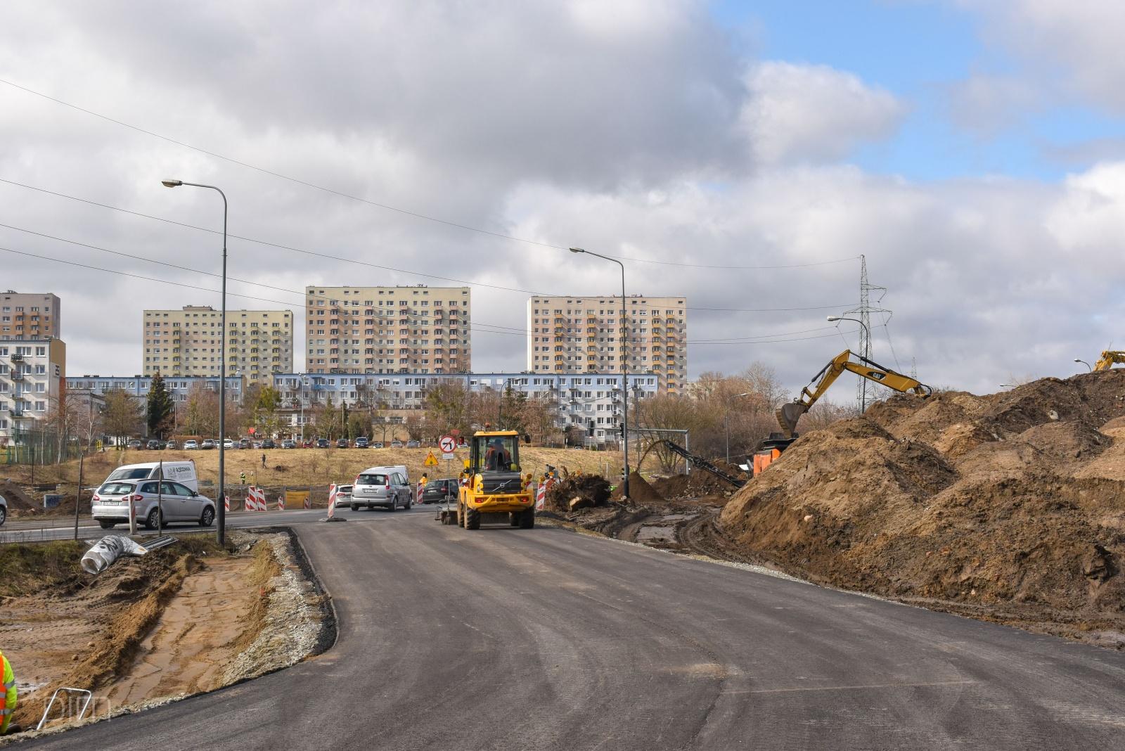 budowa trasy na naramowice  - PiM
