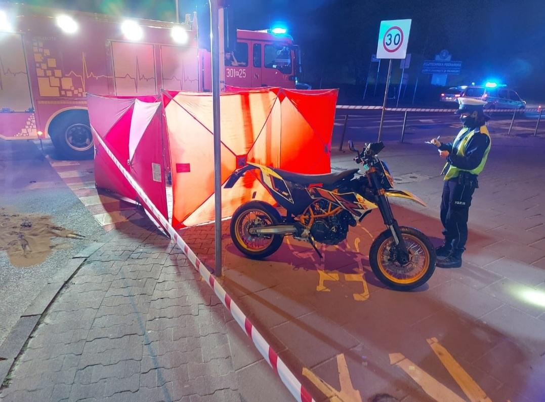 wypadek - Policja