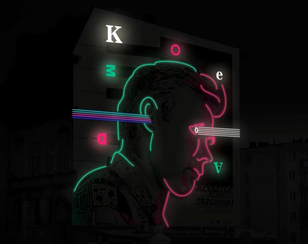 ostrów wielkopolski komeda mural neon - UM Ostrów - YouTube