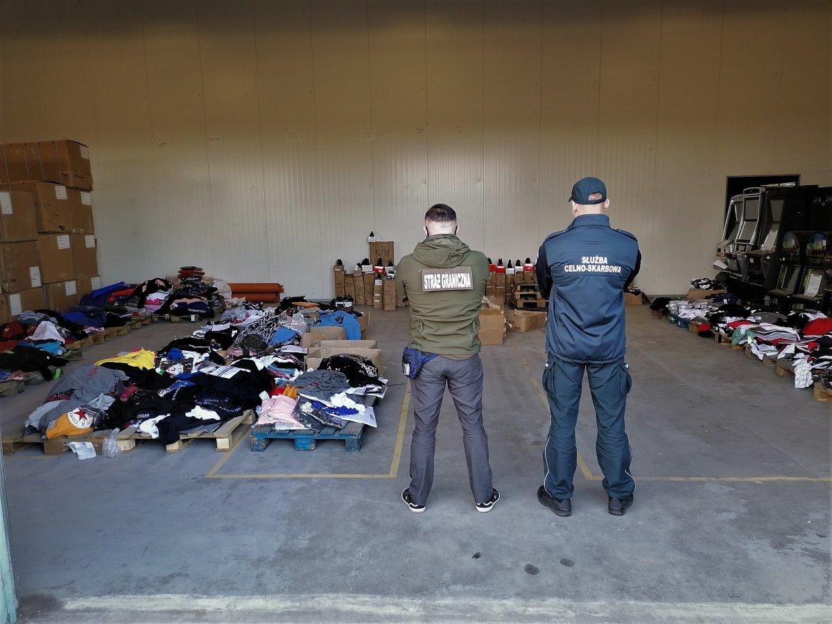 nielegalna odzież podróbki września - Nadodrzański OSG