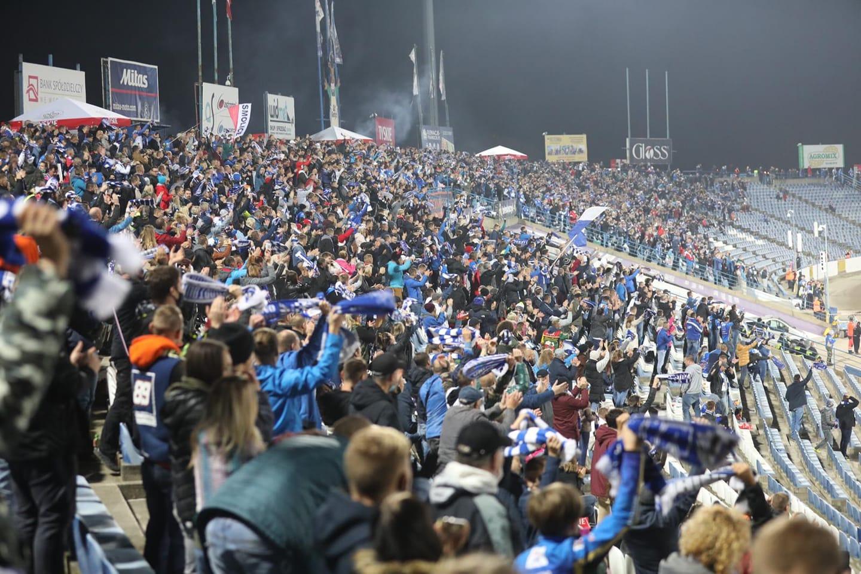 stadion leszno unia leszno kibice - FB: Unia Leszno