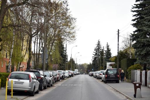 ulica swobody grunwald parkowanie - UMP