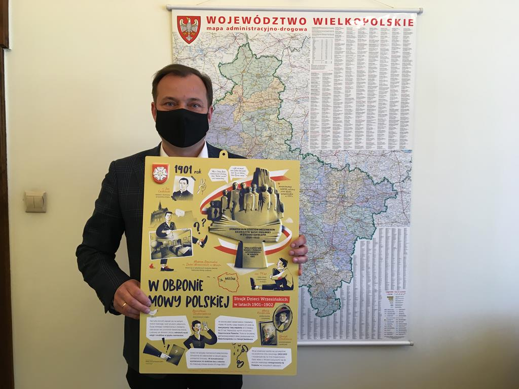 plansze strajk dzieci wrzesińskich - Rafał Regulski