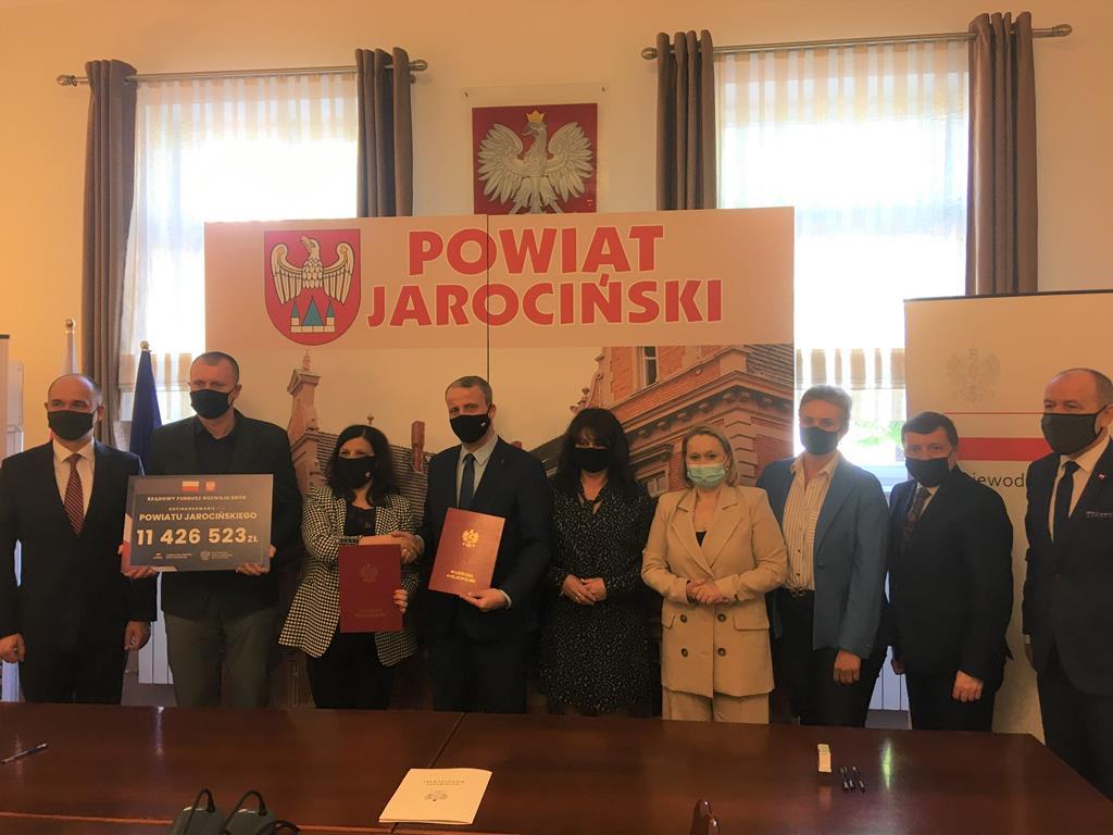 jarocin Rządowy Fundusz Rozwoju Dróg - Rafał Regulski