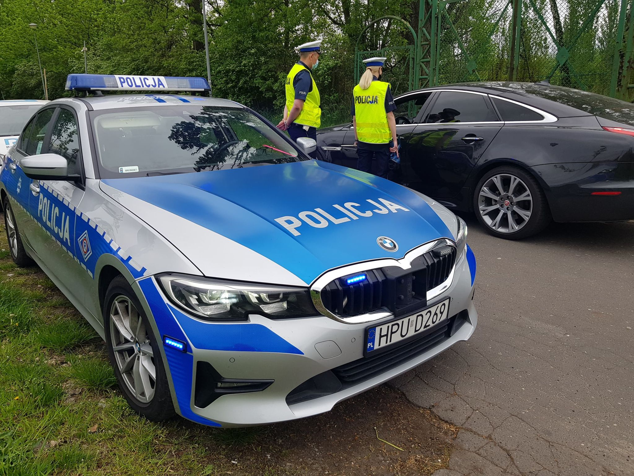pomiar prędkości policja  - Hubert Jach