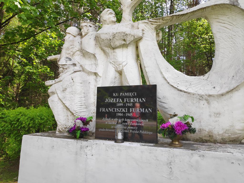 """pomnik """"spadochroniarzy"""" w Sokołowie - Przemysław Stochaj"""