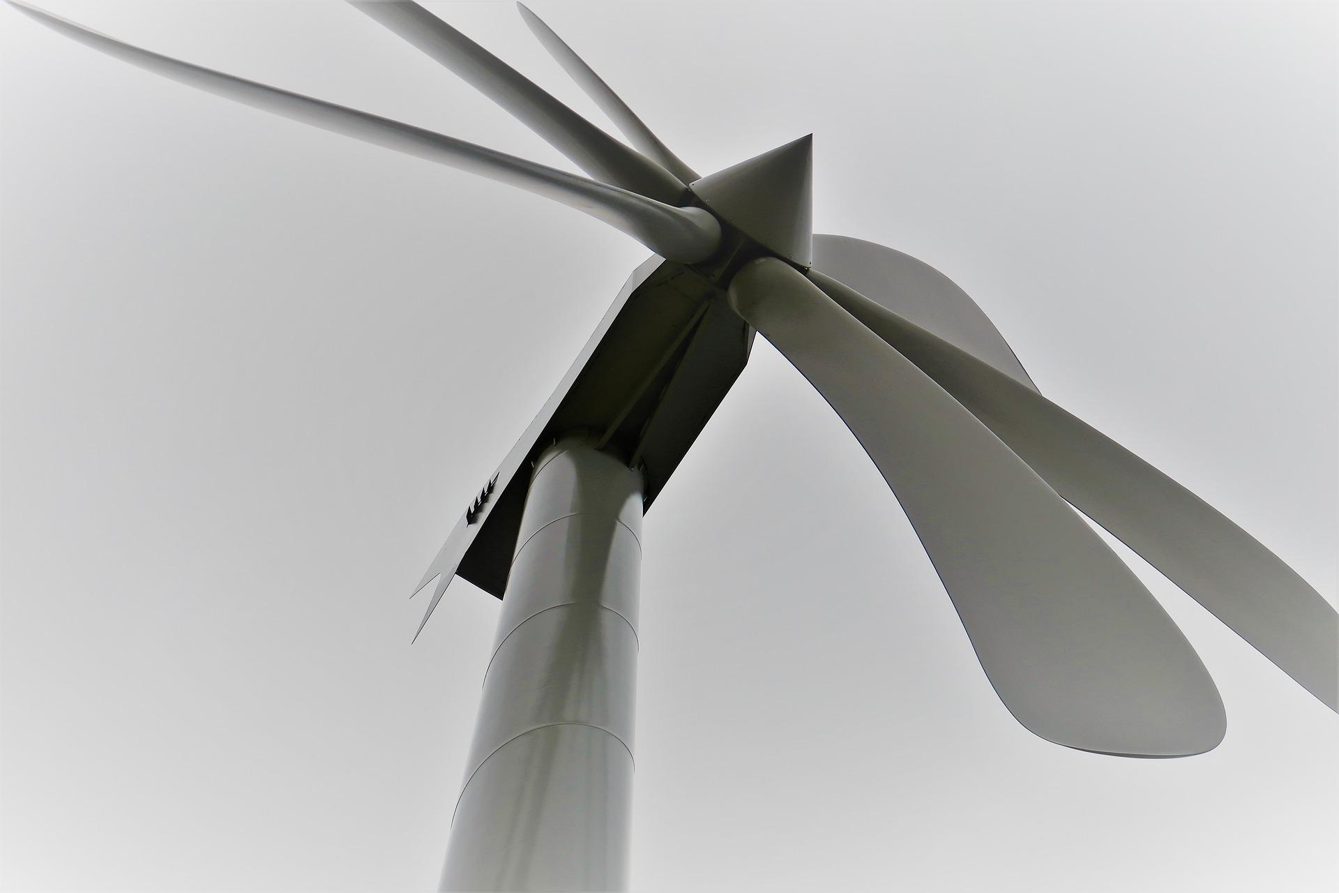 elektrownia wiatrowa wiatrak prąd śmigło - Pixabay