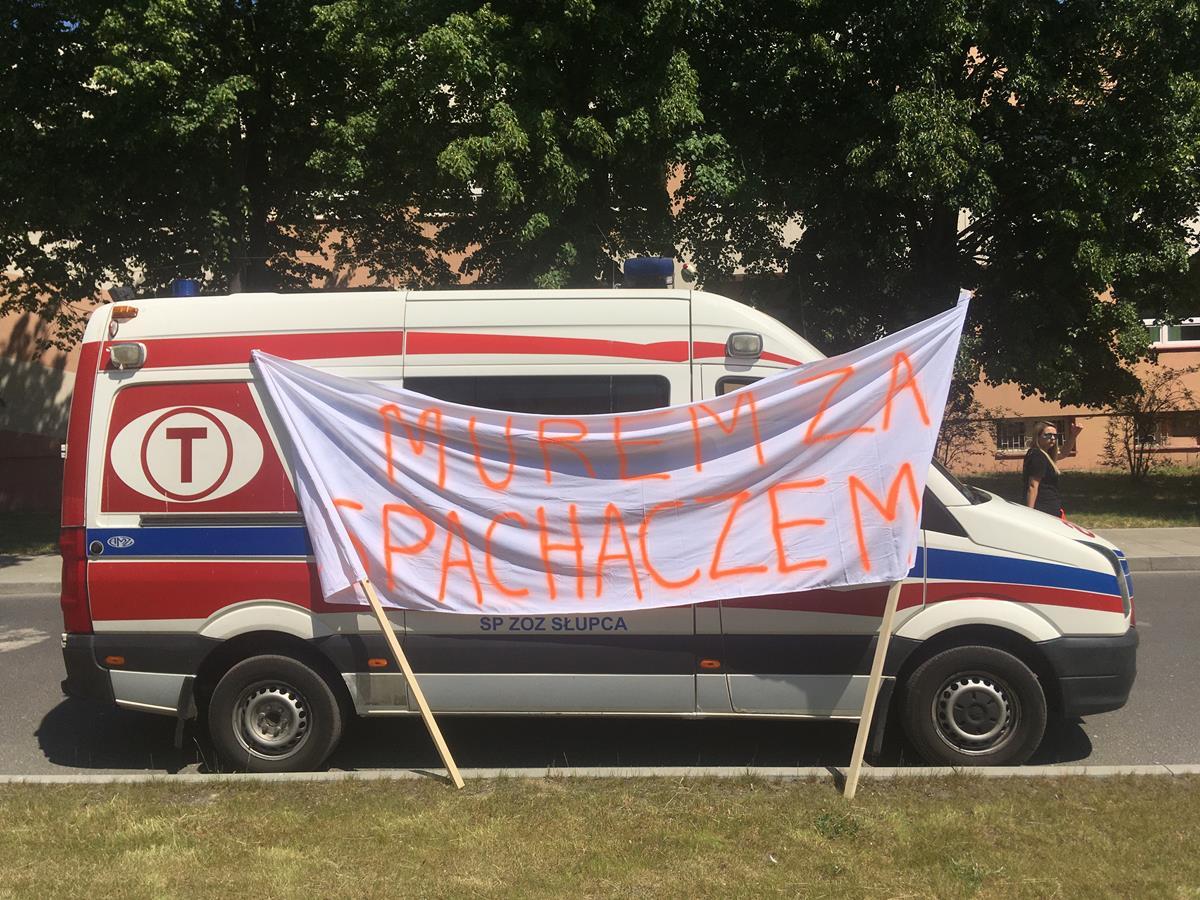 spachacz odwołany szpital słupca - Rafał Regulski - Radio Poznań