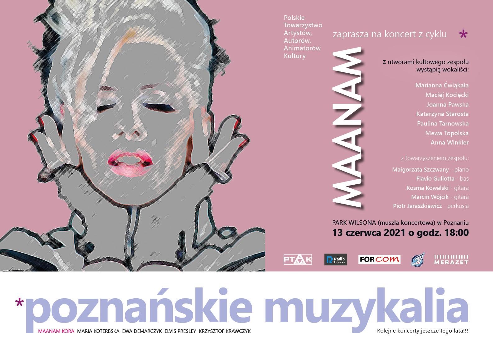 Poznańskie Muzykalia - Maanam - Organizator