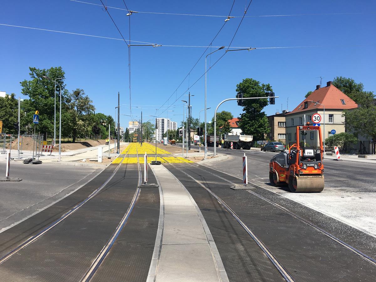 tramwaj naramowice budowa - Adam Michalkiewicz - Radio Poznań
