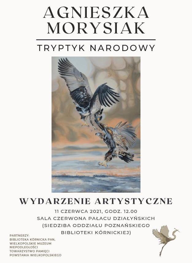 Tryptyk Narodowy Agnieszki Morysiak - Organizator