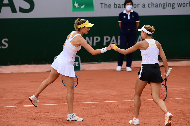 magda linette debel  - Roland-Garros
