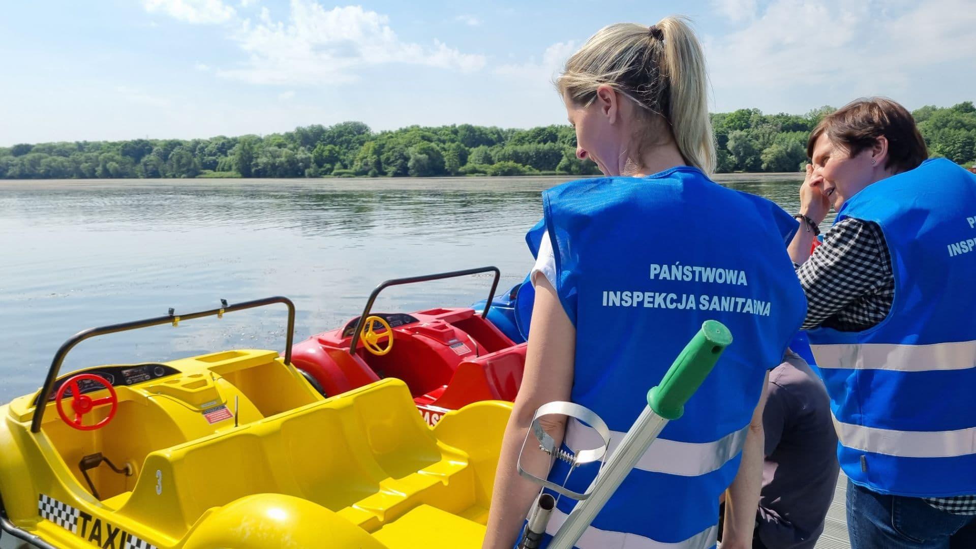 sprawdzanie wody w kapieliskach sanepid jezioro - Magdalena Konieczna