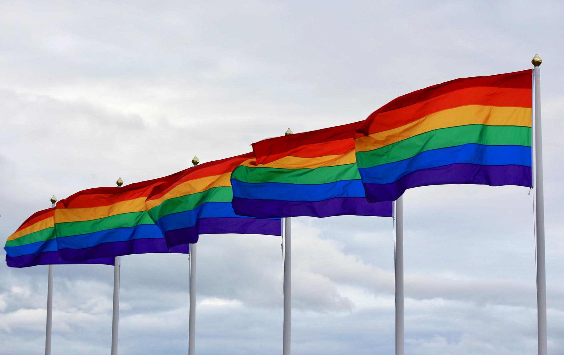 flagi lgbt  - Pixabay