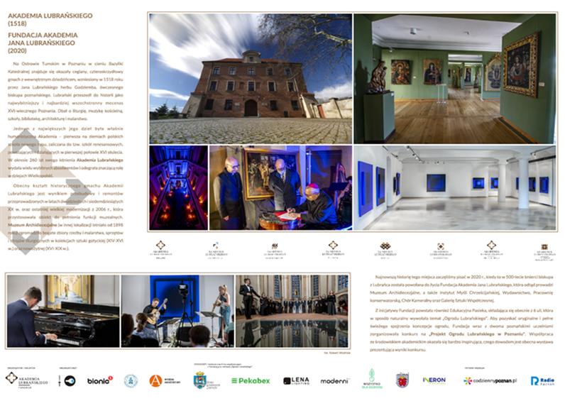 Projekt Ogrodu Lubrańskiego w Poznaniu - Organizator
