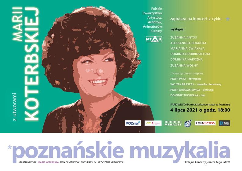 Poznańskie Muzykalia - Maria Koterbska - Organizator