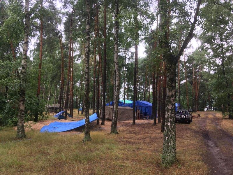 obóz harcerski kiekrz ewakuacja  - Rafał Muniak