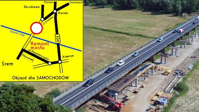 most drogowy na kanale Ulgi w Śremie - UM Śrem