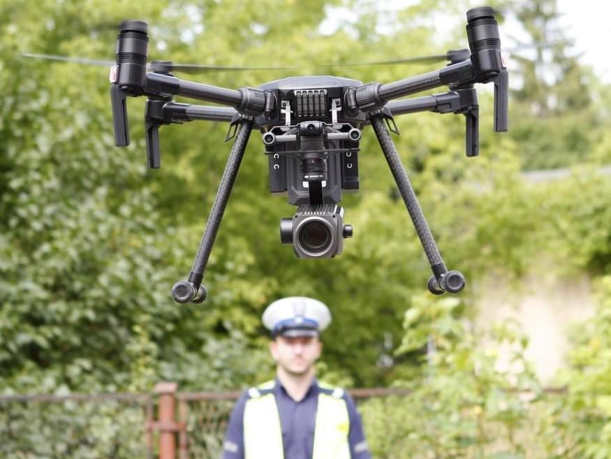 dron policja  - Wielkopolska Policja