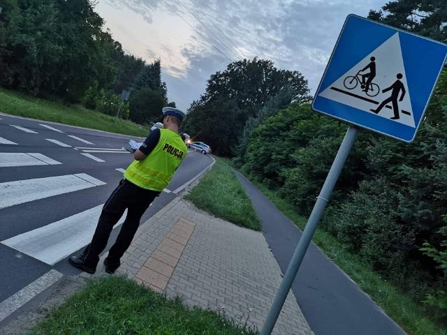 rowerzystka wypadek leszno - KMP w Lesznie