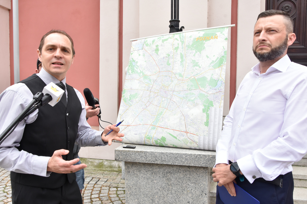 korwin poznań polityka transportowa  - Wojtek Wardejn