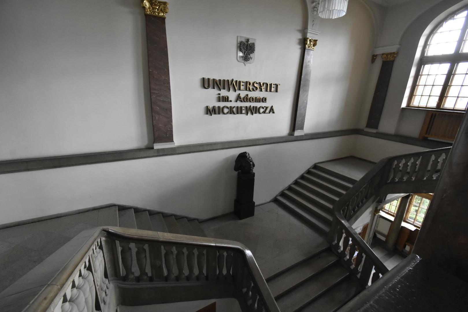uam wnętrze studia studenci studiowanie  - Wojtek Wardejn