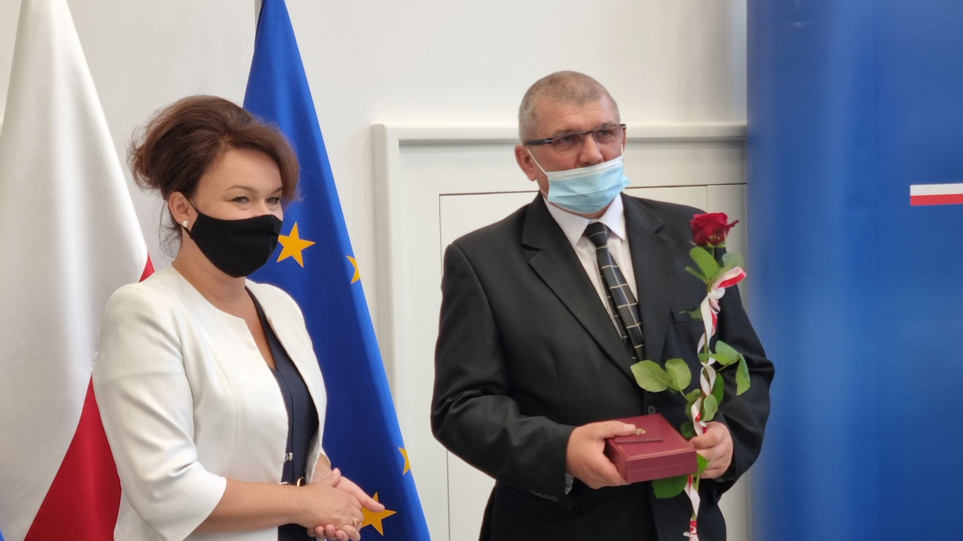 Stanisław Bachmatiuk odebrał medal Krzyż Komandorski Orderu Odrodzenia Polski - Magdalena Konieczna