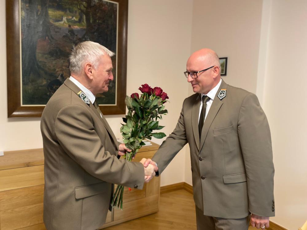 Andrzej Konieczny dyrektor regionalnej dyrekcji lasów państwowych  - Regionalna Dyrekcja Lasów Państwowych w Poznaniu